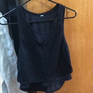 Lululemon Lean In Tank in Black Size 2 or 4